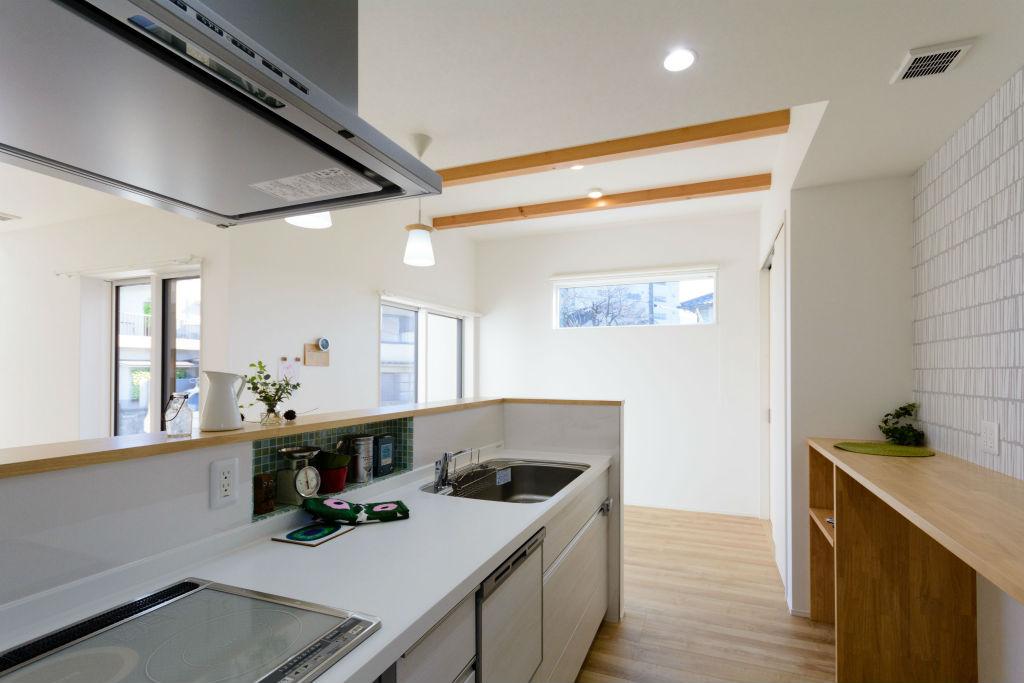 居心地の良い繋がりのある住まい・キッチン
