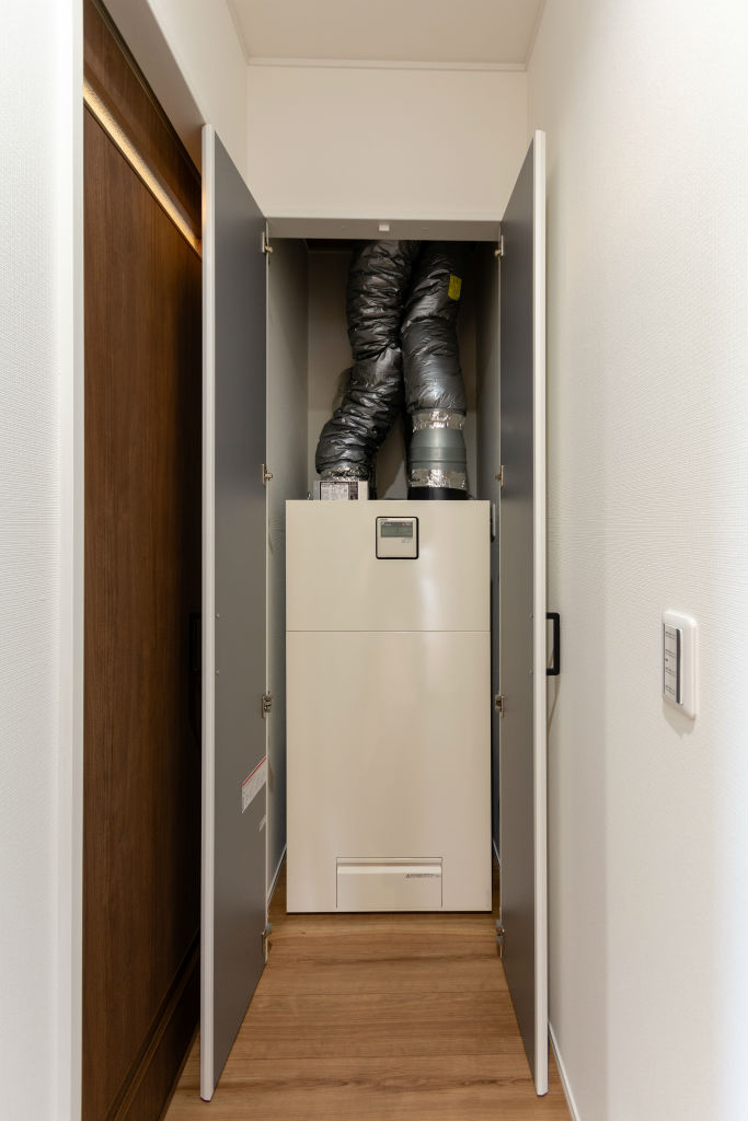 開放感のある家・換気システム
