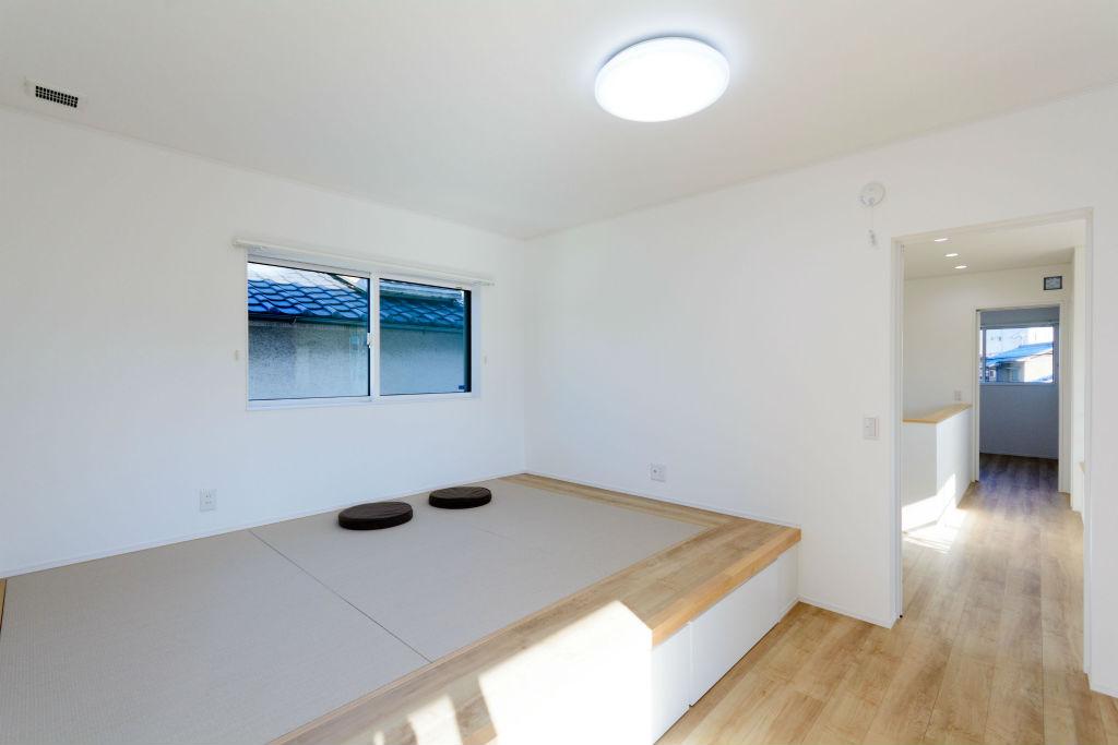 居心地の良い繋がりのある住まい・寝室の畳コーナー