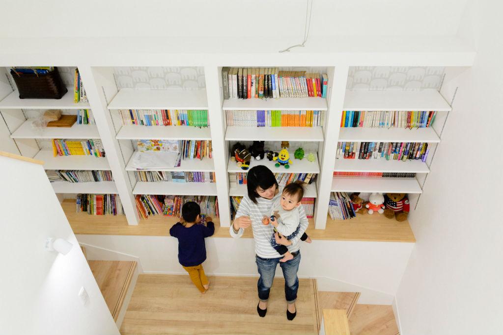 居心地の良い繋がりのある住まい・図書スペース