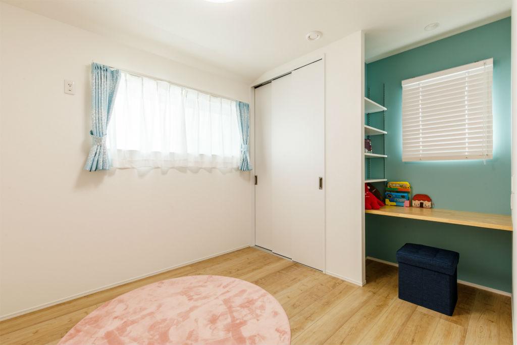 回遊動線の家・子供部屋