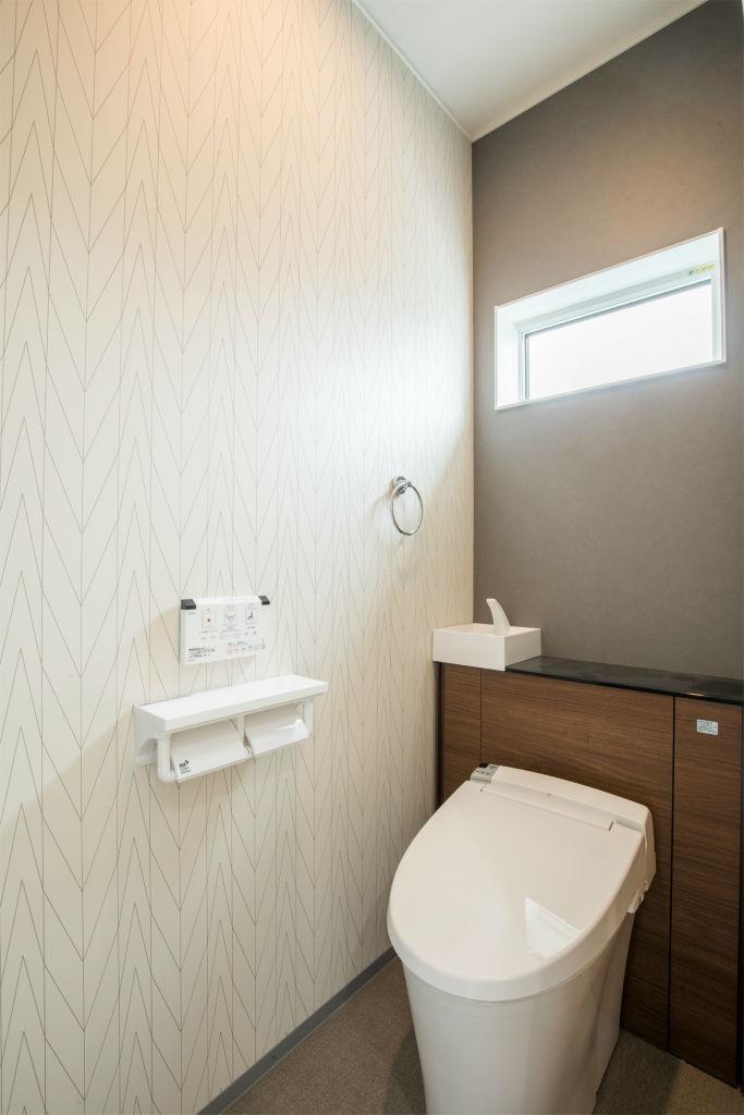 回遊動線の家・トイレ