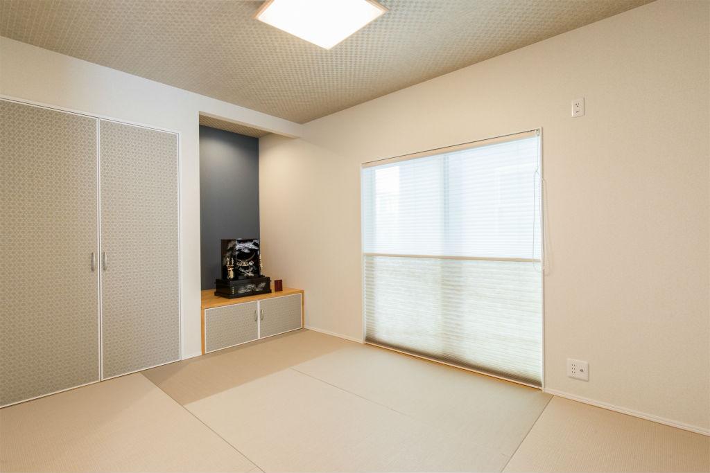 回遊動線の家・和室
