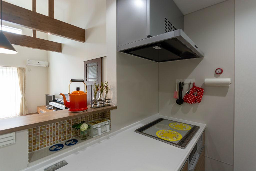 開放感のある家・キッチン