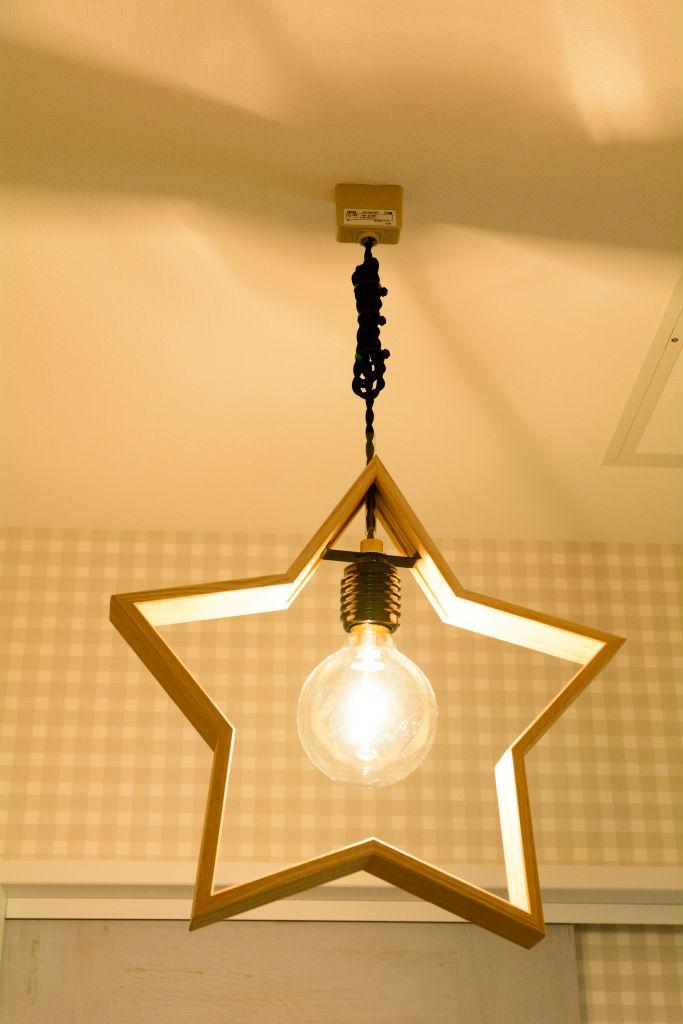 ヒュッゲを愉しむ家・照明器具