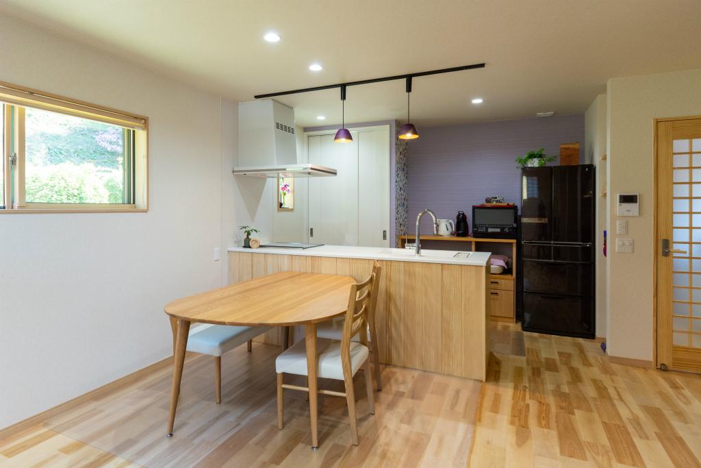 和の家 -四季彩-・ダイニングキッチン