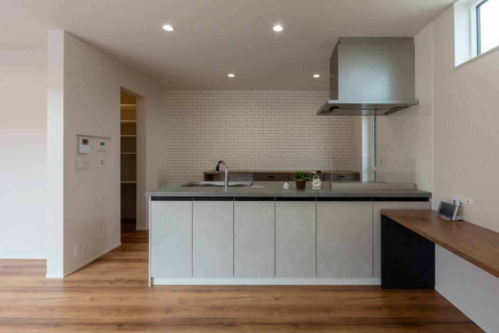 小上がり和室のある家・キッチン